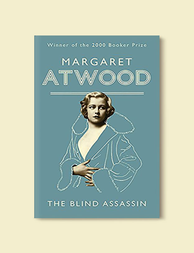 Booker Prize Winner 2000 - The Blind Assassin by Margaret Atwood - Visit www.taleway.com to find books set around the world. booker prize, booker prize winners, booker prize winners list, booker prize winners list pdf, man booker authors, man booker prize, man booker prize for fiction, booker prize for fiction, man booker prize winners, man booker prize novels, booker prize books, booker prize winners, reading list, book awards, booker reading challenge, literary awards, booker shortlists, booker longlists