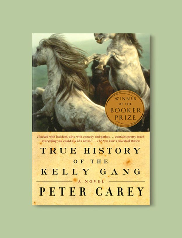 Booker Prize Winner 2001 - True History of the Kelly Gang by Peter Carey - Visit www.taleway.com to find books set around the world. booker prize, booker prize winners, booker prize winners list, booker prize winners list pdf, man booker authors, man booker prize, man booker prize for fiction, booker prize for fiction, man booker prize winners, man booker prize novels, booker prize books, booker prize winners, reading list, book awards, booker reading challenge, literary awards, booker shortlists, booker longlists