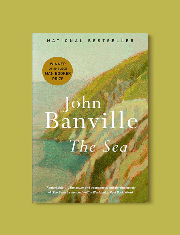 Booker Prize Winner 2005 - The Sea by John Banville - Visit www.taleway.com to find books set around the world. booker prize, booker prize winners, booker prize winners list, booker prize winners list pdf, man booker authors, man booker prize, man booker prize for fiction, booker prize for fiction, man booker prize winners, man booker prize novels, booker prize books, booker prize winners, reading list, book awards, booker reading challenge, literary awards, booker shortlists, booker longlists