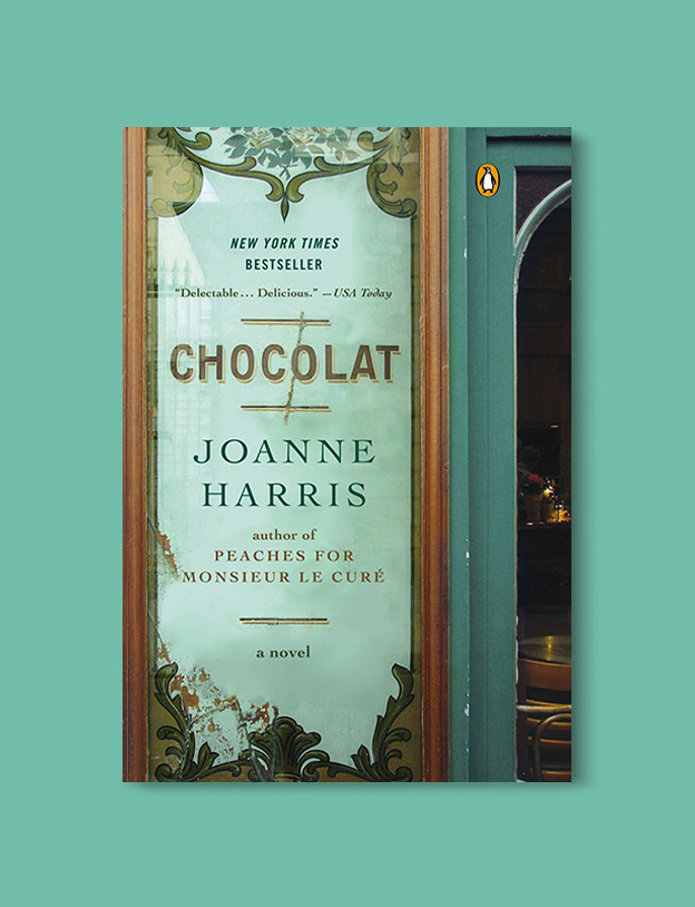 Books Set In France: Chocolat by Joanne Harris. Visit www.taleway.com to find books from around the world. french books, french novels, best books set in france, popular books set in france, books about france, books about french culture, french reading challenge, french reading list, books set in paris, paris novels, french books to read, books to read before going to france, novels set in france, books to read about france, french english books, livres francais, famous french authors, france packing list, france travel, romance books set in france, mystery books set in france, historical fiction set in france, france travel books