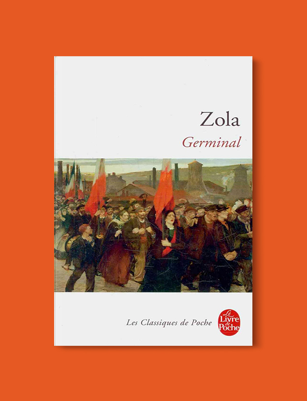 Books Set In France: Germinal (Les Rougon-Macquart #13) by Émile Zola. Visit www.taleway.com to find books from around the world. french books, french novels, best books set in france, popular books set in france, books about france, books about french culture, french reading challenge, french reading list, books set in paris, paris novels, french books to read, books to read before going to france, novels set in france, books to read about france, french english books, livres francais, famous french authors, france packing list, france travel, romance books set in france, mystery books set in france, historical fiction set in france, france travel books
