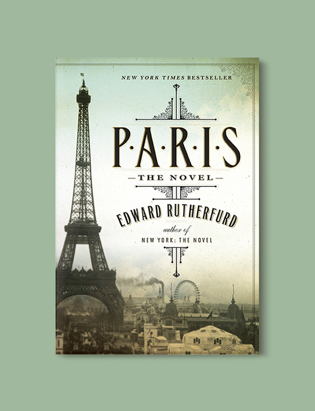 Books Set In France: Paris by Edward Rutherfurd. Visit www.taleway.com to find books from around the world. french books, french novels, best books set in france, popular books set in france, books about france, books about french culture, french reading challenge, french reading list, books set in paris, paris novels, french books to read, books to read before going to france, novels set in france, books to read about france, french english books, livres francais, famous french authors, france packing list, france travel, romance books set in france, mystery books set in france, historical fiction set in france, france travel books