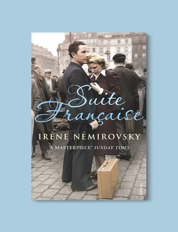 Books Set In France: Suite Française by Irène Némirovsky. Visit www.taleway.com to find books from around the world. french books, french novels, best books set in france, popular books set in france, books about france, books about french culture, french reading challenge, french reading list, books set in paris, paris novels, french books to read, books to read before going to france, novels set in france, books to read about france, french english books, livres francais, famous french authors, france packing list, france travel, romance books set in france, mystery books set in france, historical fiction set in france, france travel books