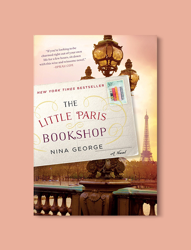 Books Set In France: The Little Paris Bookshop by Nina George. Visit www.taleway.com to find books from around the world. french books, french novels, best books set in france, popular books set in france, books about france, books about french culture, french reading challenge, french reading list, books set in paris, paris novels, french books to read, books to read before going to france, novels set in france, books to read about france, french english books, livres francais, famous french authors, france packing list, france travel, romance books set in france, mystery books set in france, historical fiction set in france, france travel books