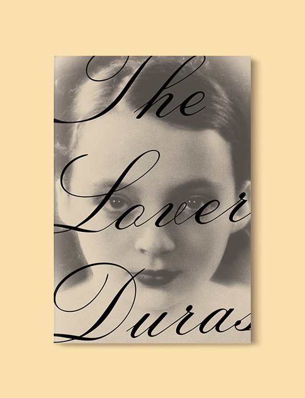 Books Set In France: The Lover by Marguerite Duras. Visit www.taleway.com to find books from around the world. french books, french novels, best books set in france, popular books set in france, books about france, books about french culture, french reading challenge, french reading list, books set in paris, paris novels, french books to read, books to read before going to france, novels set in france, books to read about france, french english books, livres francais, famous french authors, france packing list, france travel, romance books set in france, mystery books set in france, historical fiction set in france, france travel books