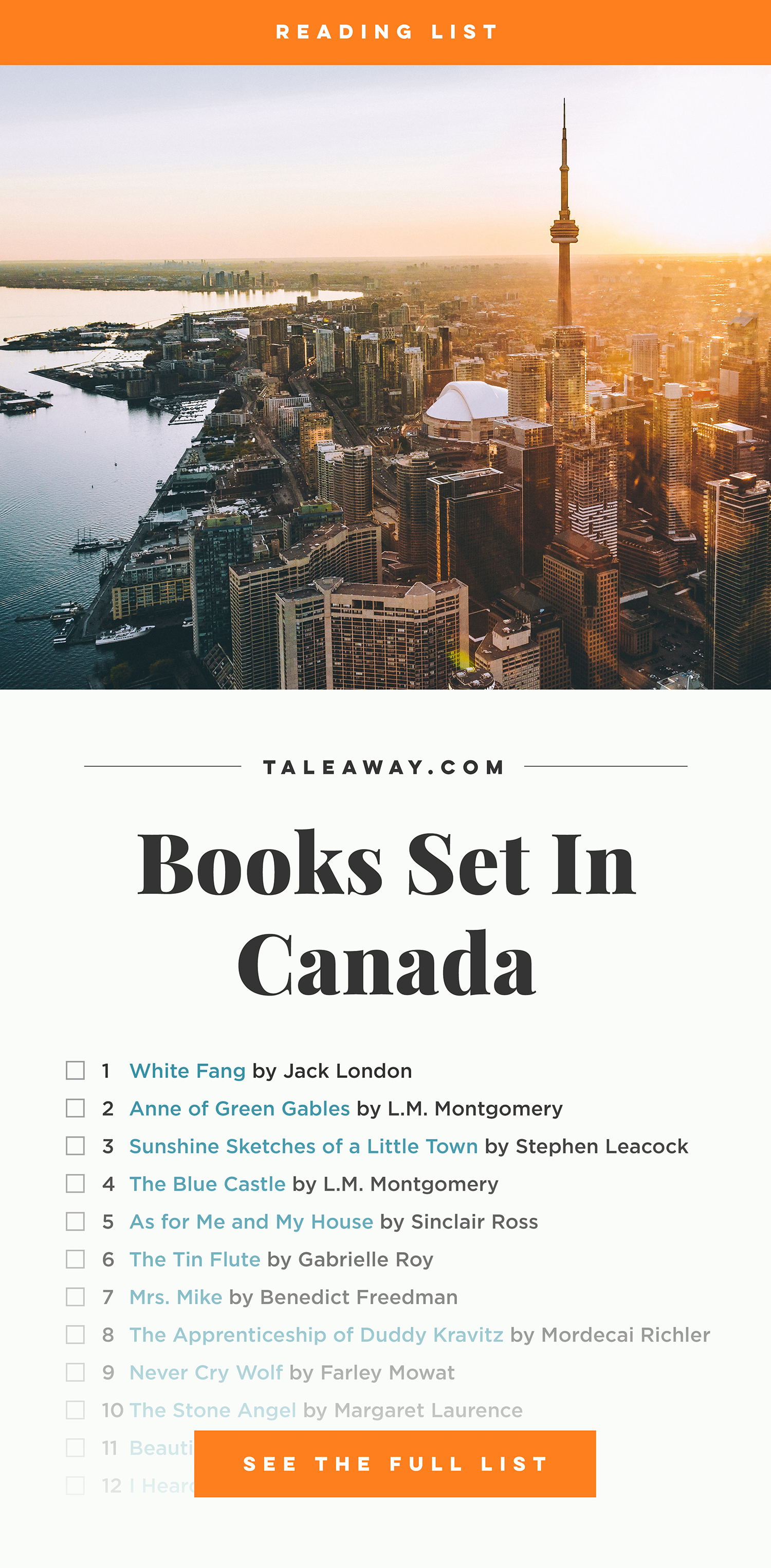 Books Set In Canada. Visit www.taleway.com to find books from around the world. canada books, canadian books, canada novels, canadian novels, best books set in canada, popular books set in canada, books about canada, books about canadian culture, canada reading challenge, canada reading list, ottawa books, toronto books, montreal books, vancouver books, canadian books to read, books to read before going to canada, novels set in canada, books to read about canada, famous canadian authors, canada packing list, books for canada, canada travel, romance books set in canada, mystery books set in canada, historical fiction set in canada, canada travel books