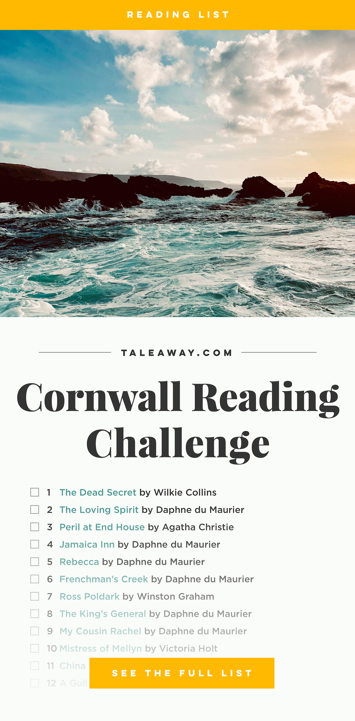 Books Set in Cornwall. Visit www.taleway.com to find books from around the world. cornwall books, cornish books, cornwall novels, cornwall literature, cornish literature, cornwall fiction, cornish fiction, cornish authors, best books set in cornwall, popular books set in cornwall, books about cornwall, cornwall reading challenge, cornwall reading list, cornwall books to read, books to read before going to cornwall, novels set in cornwall, books to read about cornwall, cornwall packing list, cornwall travel, cornwall history, cornwall travel books