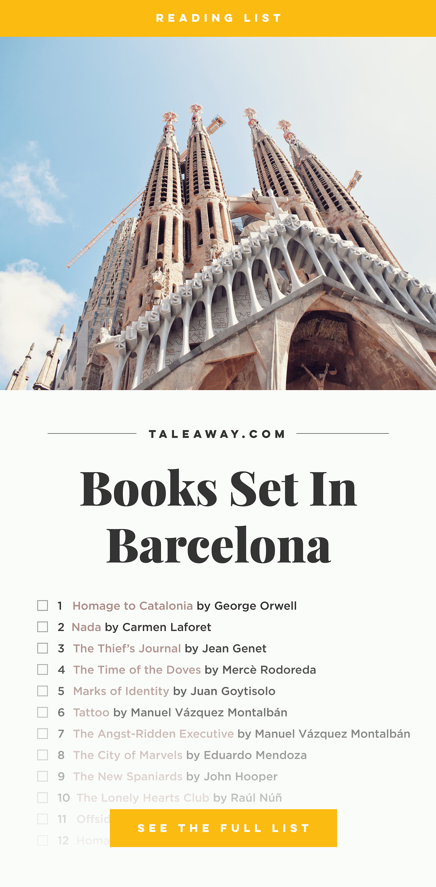 Books Set in Barcelona: barcelona books, barcelona novels, barcelona literature, barcelona fiction, barcelona authors, best books set in barcelona, spain books, popular books set in barcelona, books about barcelona, barcelona reading challenge, barcelona reading list, barcelona travel, barcelona history, barcelona travel books, barcelona packing, barcelona books to read, books to read before going to barcelona, novels set in barcelona, books to read about barcelona