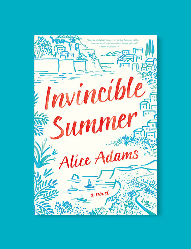 Best Book Covers 2016, Invincible Summer by Alice Adams - book covers, book covers 2016, book design, best book covers, best book design, cover design, best covers, book cover design, book designers, design inspiration, cover design inspiration, book cover ideas, book design ideas, cover design ideas, book typography, book cover typography, book cover illustration, book cover design ideas