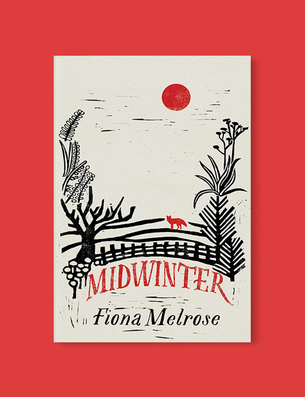 Best Book Covers 2016, Midwinter by Fiona Melrose - book covers, book covers 2016, book design, best book covers, best book design, cover design, best covers, book cover design, book designers, design inspiration, cover design inspiration, book cover ideas, book design ideas, cover design ideas, book typography, book cover typography, book cover illustration, book cover design ideas