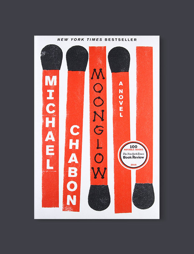 Best Book Covers 2016, Moonglow by Michael Chabon - book covers, book covers 2016, book design, best book covers, best book design, cover design, best covers, book cover design, book designers, design inspiration, cover design inspiration, book cover ideas, book design ideas, cover design ideas, book typography, book cover typography, book cover illustration, book cover design ideas