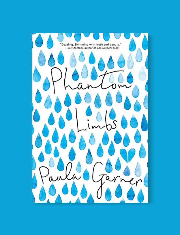 Best Book Covers 2016, Phantom Limbs by Paula Garner - book covers, book covers 2016, book design, best book covers, best book design, cover design, best covers, book cover design, book designers, design inspiration, cover design inspiration, book cover ideas, book design ideas, cover design ideas, book typography, book cover typography, book cover illustration, book cover design ideas