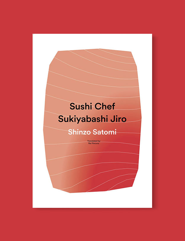 Best Book Covers 2016, Sushi Chef: Sukiyabashi Jiro by Shinzō Satomi - book covers, book covers 2016, book design, best book covers, best book design, cover design, best covers, book cover design, book designers, design inspiration, cover design inspiration, book cover ideas, book design ideas, cover design ideas, book typography, book cover typography, book cover illustration, book cover design ideas
