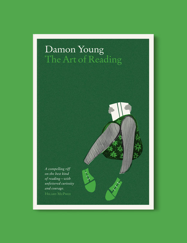 Best Book Covers 2016, The Art of Reading by Damon Young - book covers, book covers 2016, book design, best book covers, best book design, cover design, best covers, book cover design, book designers, design inspiration, cover design inspiration, book cover ideas, book design ideas, cover design ideas, book typography, book cover typography, book cover illustration, book cover design ideas