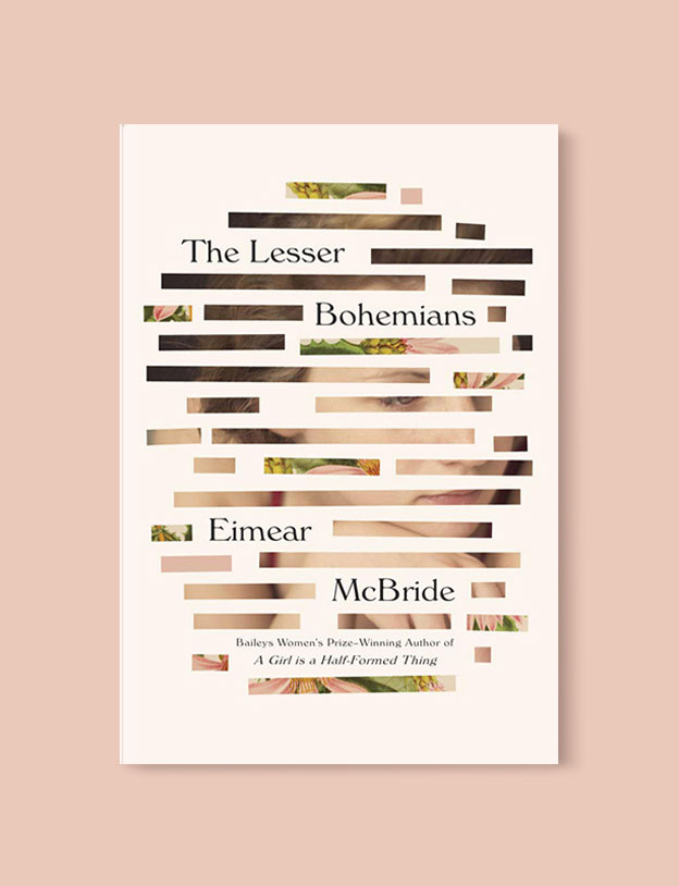 Best Book Covers 2016, The Lesser Bohemians by Eimear McBride - book covers, book covers 2016, book design, best book covers, best book design, cover design, best covers, book cover design, book designers, design inspiration, cover design inspiration, book cover ideas, book design ideas, cover design ideas, book typography, book cover typography, book cover illustration, book cover design ideas