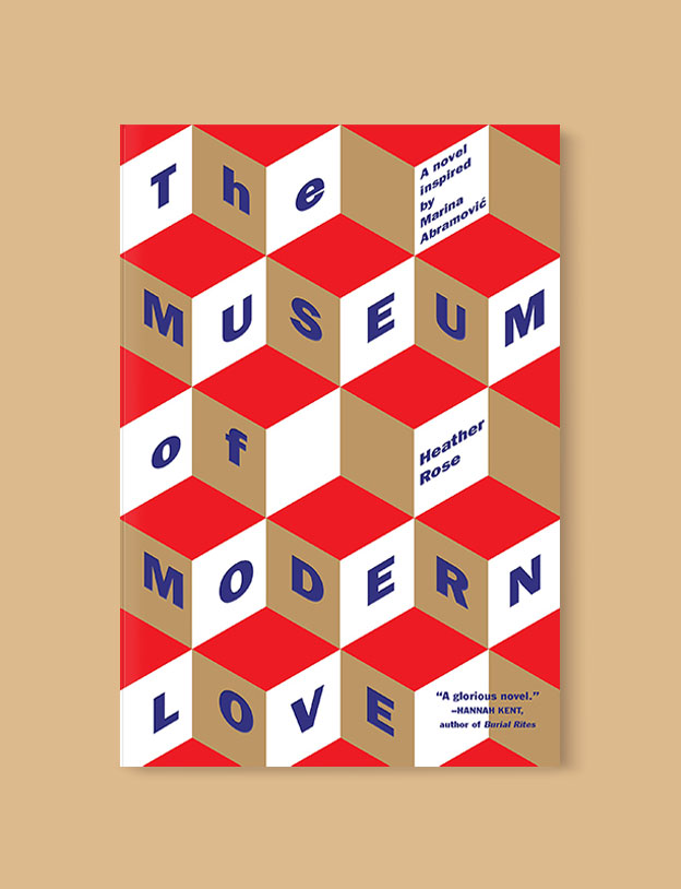 Best Book Covers 2016, The Museum of Modern Love by Heather Rose - book covers, book covers 2016, book design, best book covers, best book design, cover design, best covers, book cover design, book designers, design inspiration, cover design inspiration, book cover ideas, book design ideas, cover design ideas, book typography, book cover typography, book cover illustration, book cover design ideas