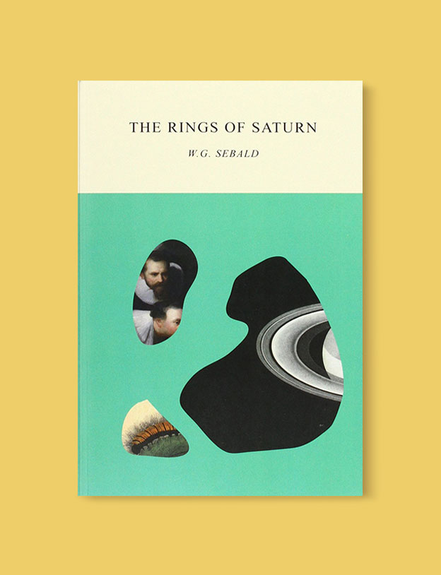 Best Book Covers 2016, The Rings of Saturn by W.G. Sebald - book covers, book covers 2016, book design, best book covers, best book design, cover design, best covers, book cover design, book designers, design inspiration, cover design inspiration, book cover ideas, book design ideas, cover design ideas, book typography, book cover typography, book cover illustration, book cover design ideas