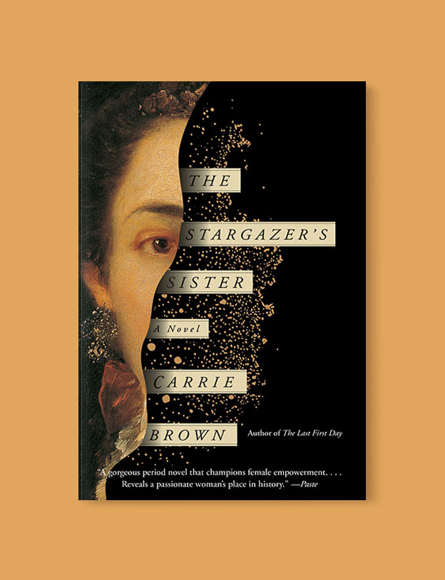 Best Book Covers 2016, The Stargazer's Sister by Carrie Brown - book covers, book covers 2016, book design, best book covers, best book design, cover design, best covers, book cover design, book designers, design inspiration, cover design inspiration, book cover ideas, book design ideas, cover design ideas, book typography, book cover typography, book cover illustration, book cover design ideas