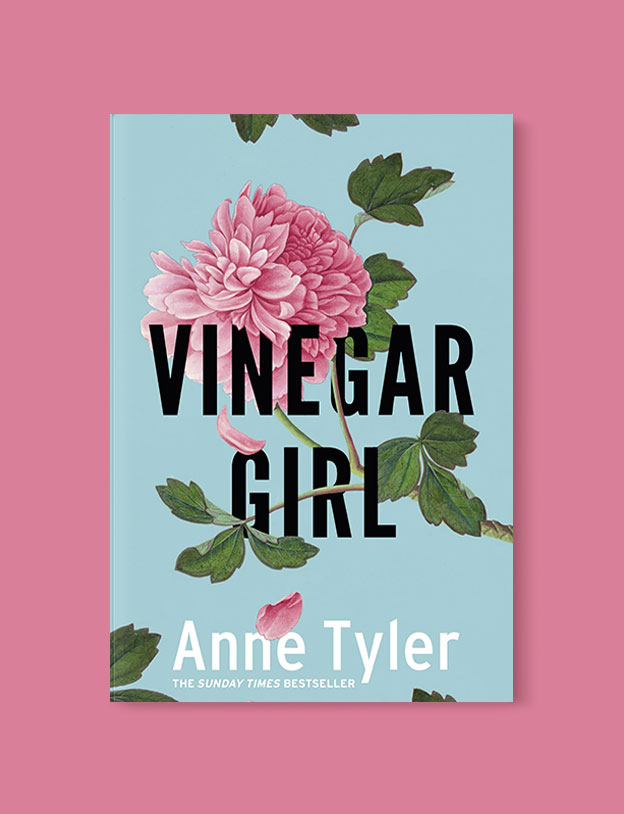 Best Book Covers 2016, Vinegar Girl by Anne Tyler - book covers, book covers 2016, book design, best book covers, best book design, cover design, best covers, book cover design, book designers, design inspiration, cover design inspiration, book cover ideas, book design ideas, cover design ideas, book typography, book cover typography, book cover illustration, book cover design ideas