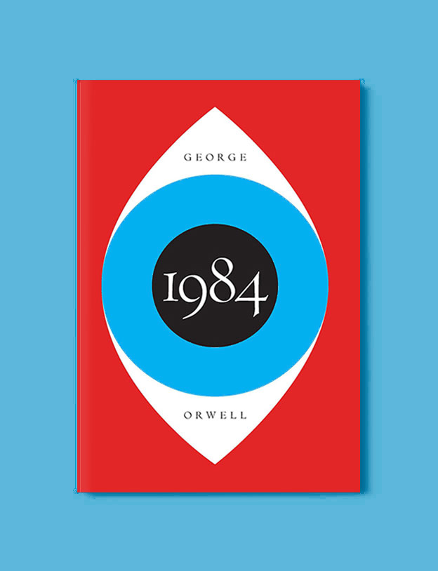 Best Book Covers 2017, 1984 by George Orwell - book covers, book covers 2017, book design, best book covers, best book design, cover design, best covers, book cover design, book designers, design inspiration, cover design inspiration, book cover ideas, book design ideas, cover design ideas, book typography, book cover typography, book cover illustration, book cover design ideas