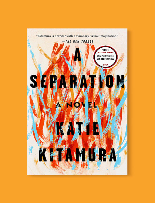 Best Book Covers 2017, A Separation by Katie Kitamura - book covers, book covers 2017, book design, best book covers, best book design, cover design, best covers, book cover design, book designers, design inspiration, cover design inspiration, book cover ideas, book design ideas, cover design ideas, book typography, book cover typography, book cover illustration, book cover design ideas