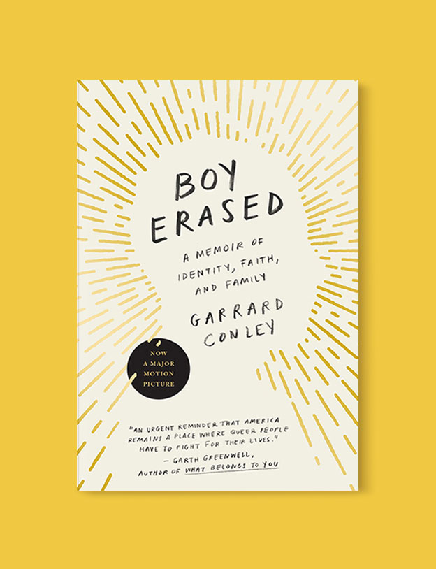 Best Book Covers 2017, Boy Erased: A Memoir of Identity, Faith, and Family by Garrard Conley - book covers, book covers 2017, book design, best book covers, best book design, cover design, best covers, book cover design, book designers, design inspiration, cover design inspiration, book cover ideas, book design ideas, cover design ideas, book typography, book cover typography, book cover illustration, book cover design ideas
