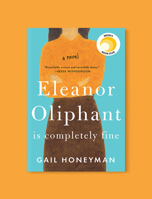 Best Book Covers 2017, Eleanor Oliphant is Completely Fine by Gail Honeyman - book covers, book covers 2017, book design, best book covers, best book design, cover design, best covers, book cover design, book designers, design inspiration, cover design inspiration, book cover ideas, book design ideas, cover design ideas, book typography, book cover typography, book cover illustration, book cover design ideas