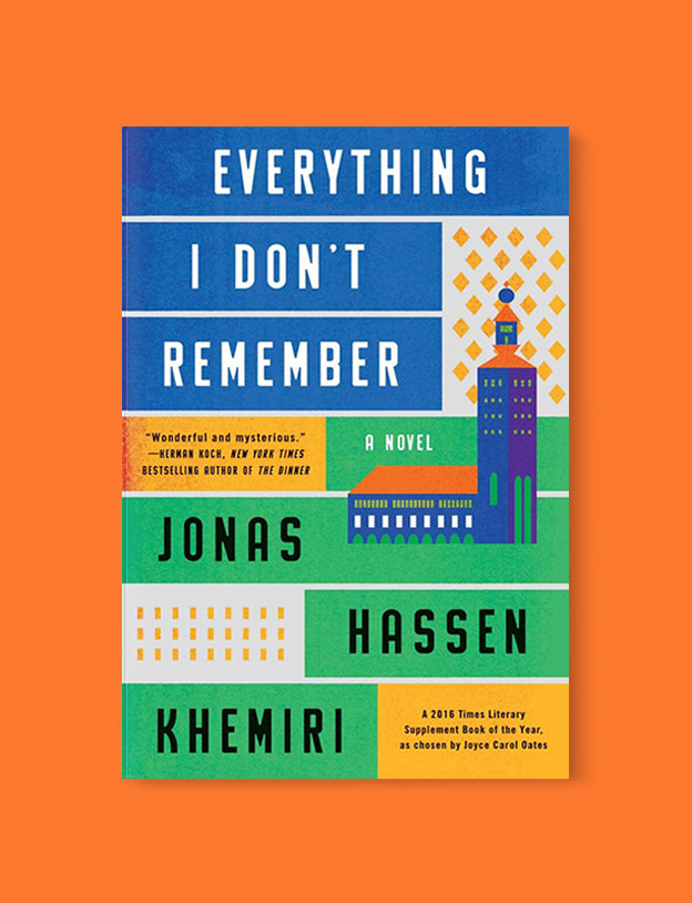 Best Book Covers 2017, Everything I Don't Remember by Jonas Hassen Khemiri - book covers, book covers 2017, book design, best book covers, best book design, cover design, best covers, book cover design, book designers, design inspiration, cover design inspiration, book cover ideas, book design ideas, cover design ideas, book typography, book cover typography, book cover illustration, book cover design ideas