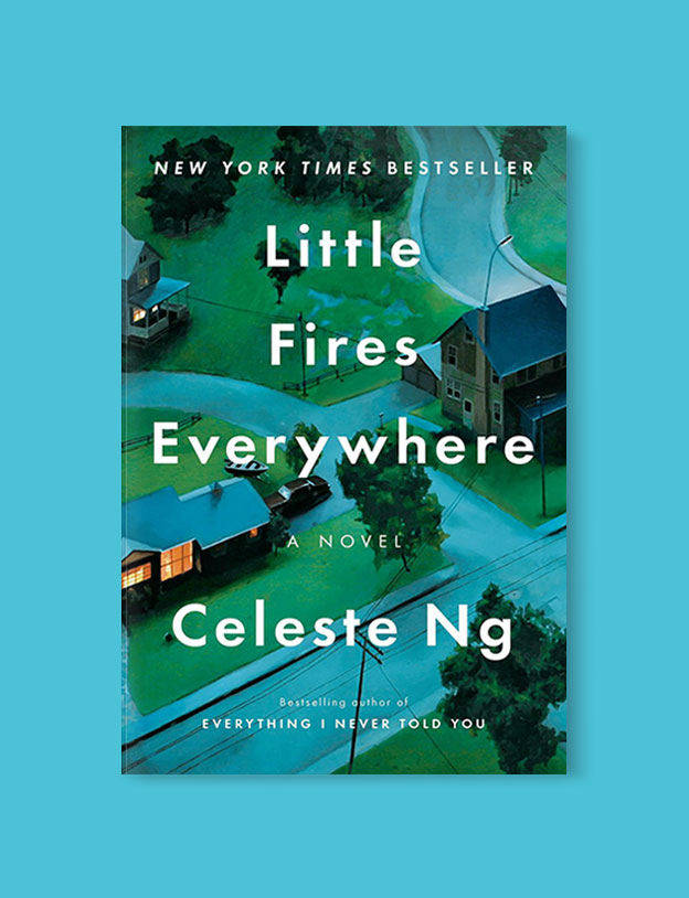 Best Book Covers 2017, Little Fires Everywhere by Celeste Ng - book covers, book covers 2017, book design, best book covers, best book design, cover design, best covers, book cover design, book designers, design inspiration, cover design inspiration, book cover ideas, book design ideas, cover design ideas, book typography, book cover typography, book cover illustration, book cover design ideas