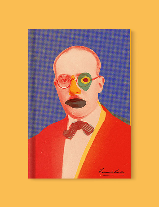 Best Book Covers 2017, The Book of Disquiet: The Complete Edition by Fernando Pessoa - book covers, book covers 2017, book design, best book covers, best book design, cover design, best covers, book cover design, book designers, design inspiration, cover design inspiration, book cover ideas, book design ideas, cover design ideas, book typography, book cover typography, book cover illustration, book cover design ideas