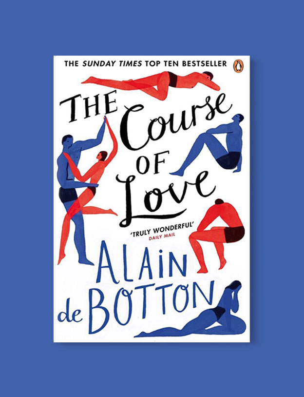 Best Book Covers 2017, The Course of Love by Alain de Botton - book covers, book covers 2017, book design, best book covers, best book design, cover design, best covers, book cover design, book designers, design inspiration, cover design inspiration, book cover ideas, book design ideas, cover design ideas, book typography, book cover typography, book cover illustration, book cover design ideas