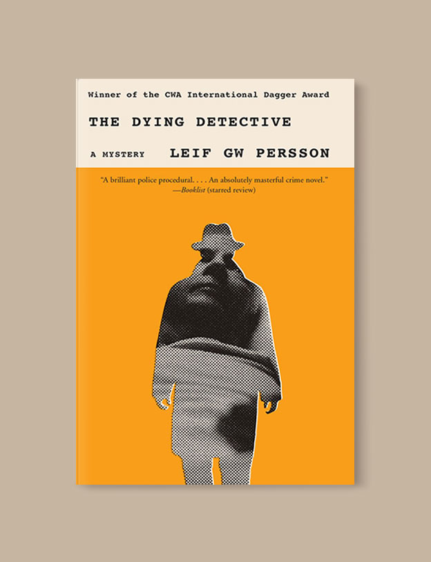 Best Book Covers 2017, The Dying Detective by Leif G.W. Persson - book covers, book covers 2017, book design, best book covers, best book design, cover design, best covers, book cover design, book designers, design inspiration, cover design inspiration, book cover ideas, book design ideas, cover design ideas, book typography, book cover typography, book cover illustration, book cover design ideas