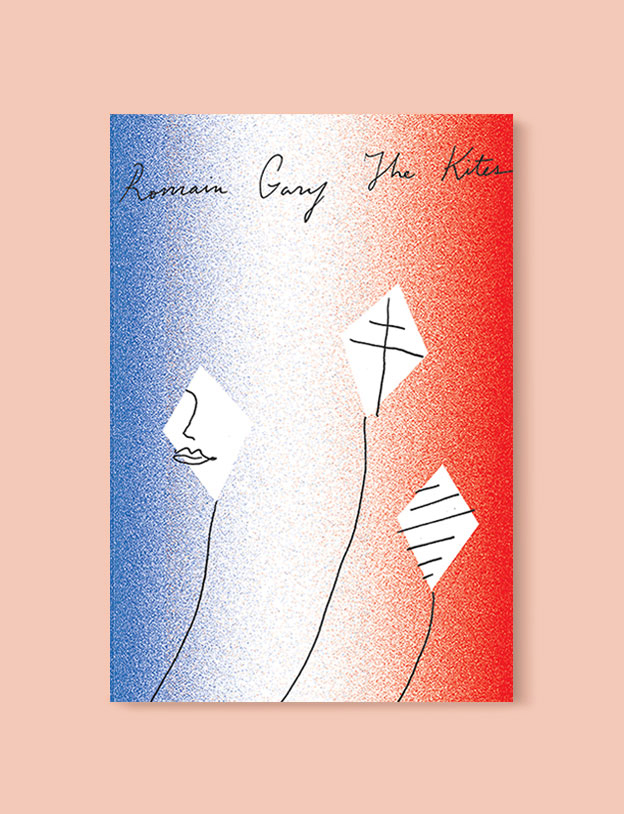 Best Book Covers 2017, The Kites by Romain Gary - book covers, book covers 2017, book design, best book covers, best book design, cover design, best covers, book cover design, book designers, design inspiration, cover design inspiration, book cover ideas, book design ideas, cover design ideas, book typography, book cover typography, book cover illustration, book cover design ideas