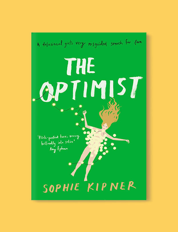 Best Book Covers 2017, The Optimist by Sophie Kipner - book covers, book covers 2017, book design, best book covers, best book design, cover design, best covers, book cover design, book designers, design inspiration, cover design inspiration, book cover ideas, book design ideas, cover design ideas, book typography, book cover typography, book cover illustration, book cover design ideas