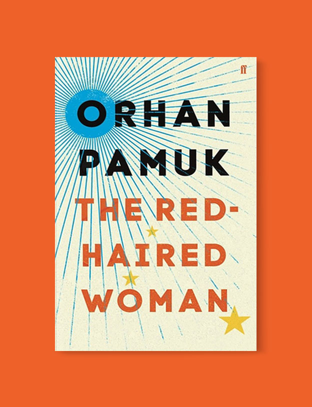 Best Book Covers 2017, The Red-Haired Woman by Orhan Pamuk - book covers, book covers 2017, book design, best book covers, best book design, cover design, best covers, book cover design, book designers, design inspiration, cover design inspiration, book cover ideas, book design ideas, cover design ideas, book typography, book cover typography, book cover illustration, book cover design ideas
