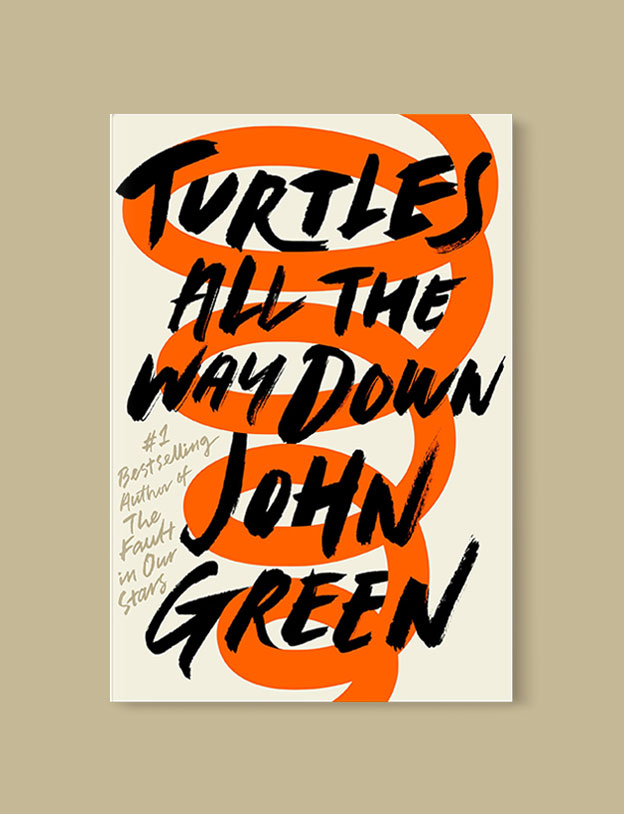 Best Book Covers 2017, Turtles All the Way Down by John Green - book covers, book covers 2017, book design, best book covers, best book design, cover design, best covers, book cover design, book designers, design inspiration, cover design inspiration, book cover ideas, book design ideas, cover design ideas, book typography, book cover typography, book cover illustration, book cover design ideas