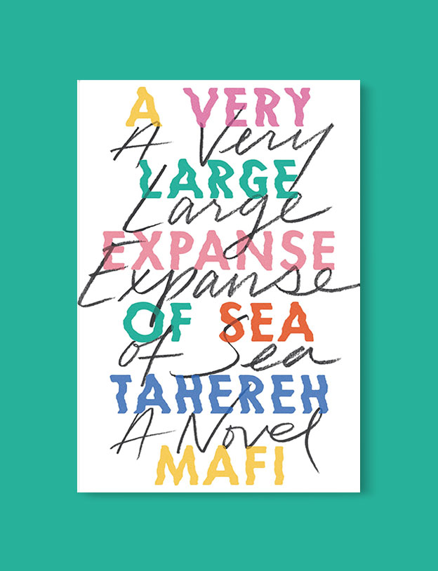 Best Book Covers 2018, A Very Large Expanse of Sea by Tahereh Mafi - book covers, book covers 2018, book design, best book covers, best book design, cover design, best covers, book cover design, book designers, design inspiration, cover design inspiration, book cover ideas, book design ideas, cover design ideas, book typography, book cover typography, book cover illustration, book cover design ideas