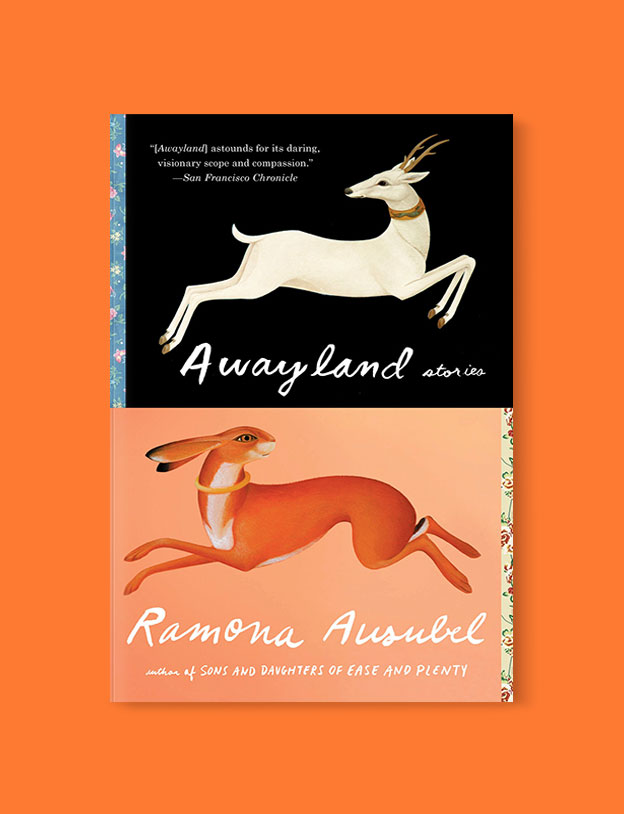 Best Book Covers 2018, Awayland by Ramona Ausubel - book covers, book covers 2018, book design, best book covers, best book design, cover design, best covers, book cover design, book designers, design inspiration, cover design inspiration, book cover ideas, book design ideas, cover design ideas, book typography, book cover typography, book cover illustration, book cover design ideas