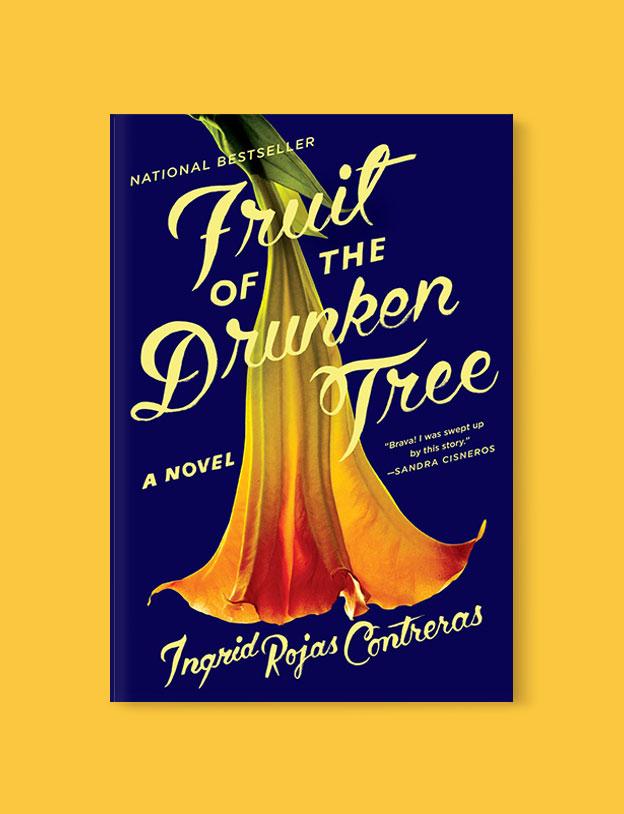 Best Book Covers 2018, Fruit of the Drunken Tree by Ingrid Rojas Contreras - book covers, book covers 2018, book design, best book covers, best book design, cover design, best covers, book cover design, book designers, design inspiration, cover design inspiration, book cover ideas, book design ideas, cover design ideas, book typography, book cover typography, book cover illustration, book cover design ideas