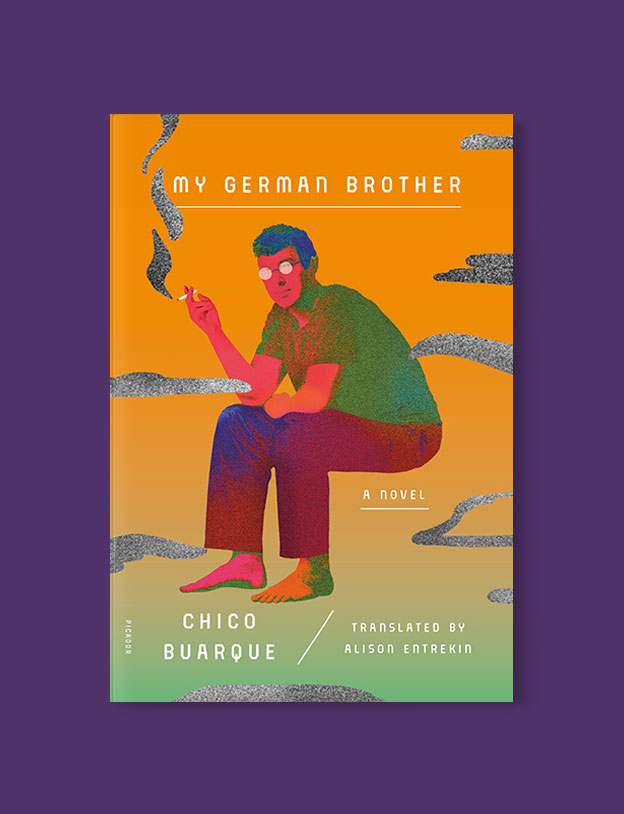 Best Book Covers 2018, My German Brother by Chico Buarque - book covers, book covers 2018, book design, best book covers, best book design, cover design, best covers, book cover design, book designers, design inspiration, cover design inspiration, book cover ideas, book design ideas, cover design ideas, book typography, book cover typography, book cover illustration, book cover design ideas