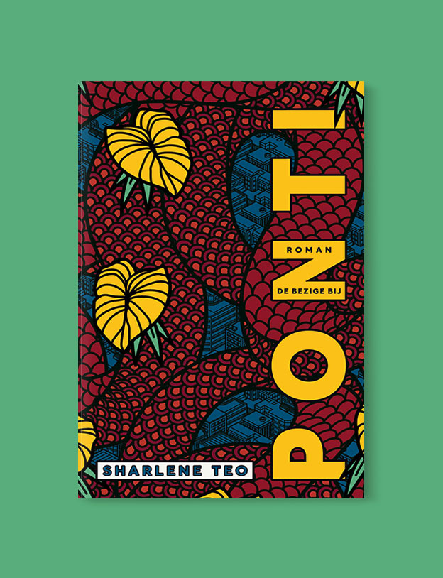 Best Book Covers 2018, Ponti by Sharlene Teo - book covers, book covers 2018, book design, best book covers, best book design, cover design, best covers, book cover design, book designers, design inspiration, cover design inspiration, book cover ideas, book design ideas, cover design ideas, book typography, book cover typography, book cover illustration, book cover design ideas