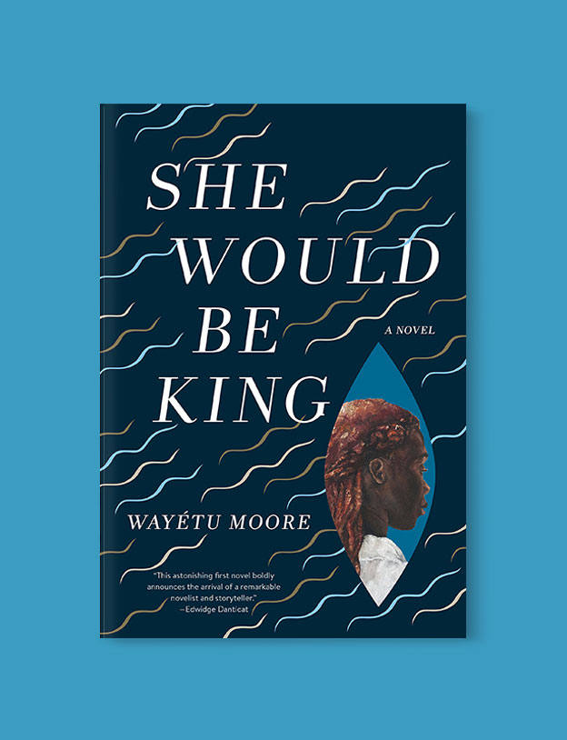 Best Book Covers 2018, She Would Be King by Wayétu Moore - book covers, book covers 2018, book design, best book covers, best book design, cover design, best covers, book cover design, book designers, design inspiration, cover design inspiration, book cover ideas, book design ideas, cover design ideas, book typography, book cover typography, book cover illustration, book cover design ideas