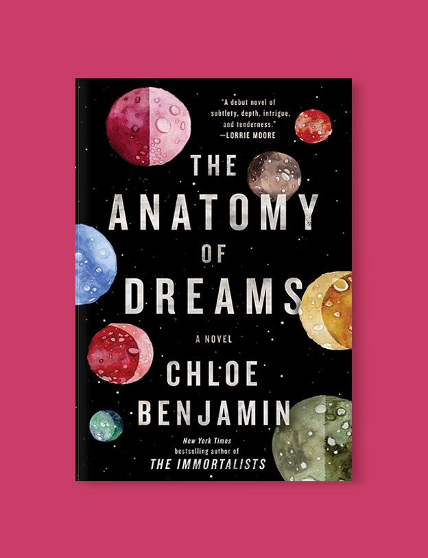 Best Book Covers 2018, The Anatomy of Dreams by Chloe Benjamin - book covers, book covers 2018, book design, best book covers, best book design, cover design, best covers, book cover design, book designers, design inspiration, cover design inspiration, book cover ideas, book design ideas, cover design ideas, book typography, book cover typography, book cover illustration, book cover design ideas