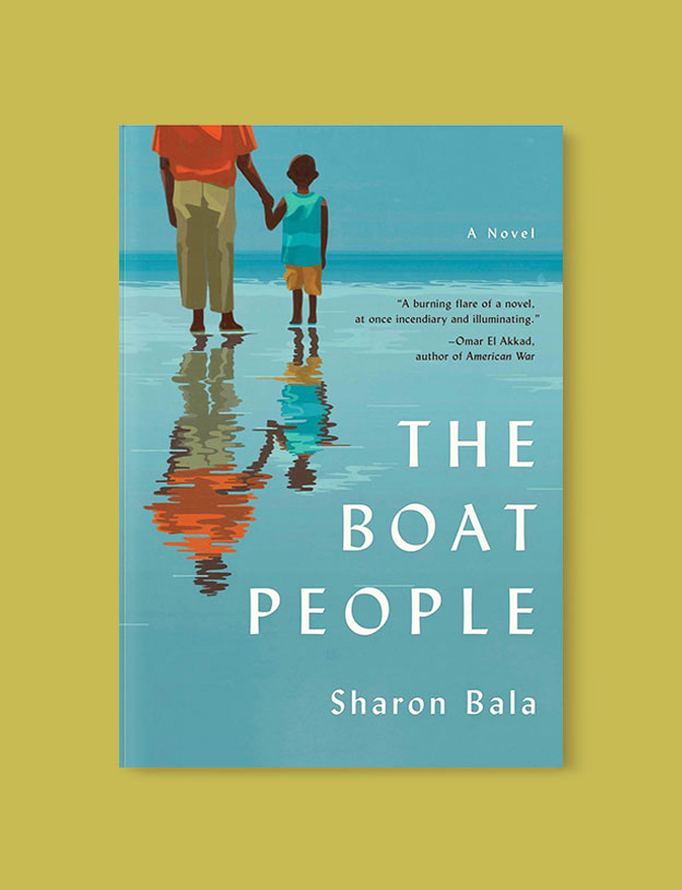 Best Book Covers 2018, The Boat People by Sharon Bala - book covers, book covers 2018, book design, best book covers, best book design, cover design, best covers, book cover design, book designers, design inspiration, cover design inspiration, book cover ideas, book design ideas, cover design ideas, book typography, book cover typography, book cover illustration, book cover design ideas