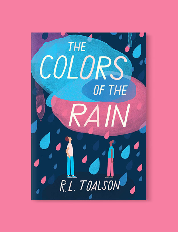 Best Book Covers 2018, The Colors of the Rain by R.L. Toalson - book covers, book covers 2018, book design, best book covers, best book design, cover design, best covers, book cover design, book designers, design inspiration, cover design inspiration, book cover ideas, book design ideas, cover design ideas, book typography, book cover typography, book cover illustration, book cover design ideas