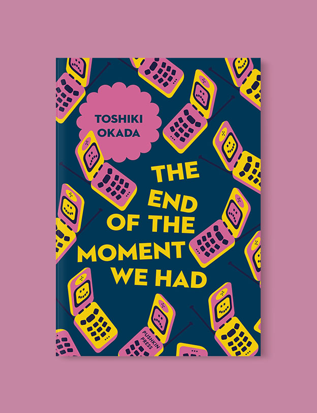 Best Book Covers 2018, The End of the Moment We Had by Toshiki Okada - book covers, book covers 2018, book design, best book covers, best book design, cover design, best covers, book cover design, book designers, design inspiration, cover design inspiration, book cover ideas, book design ideas, cover design ideas, book typography, book cover typography, book cover illustration, book cover design ideas