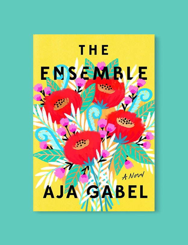 Best Book Covers 2018, The Ensemble by Aja Gabel - book covers, book covers 2018, book design, best book covers, best book design, cover design, best covers, book cover design, book designers, design inspiration, cover design inspiration, book cover ideas, book design ideas, cover design ideas, book typography, book cover typography, book cover illustration, book cover design ideas