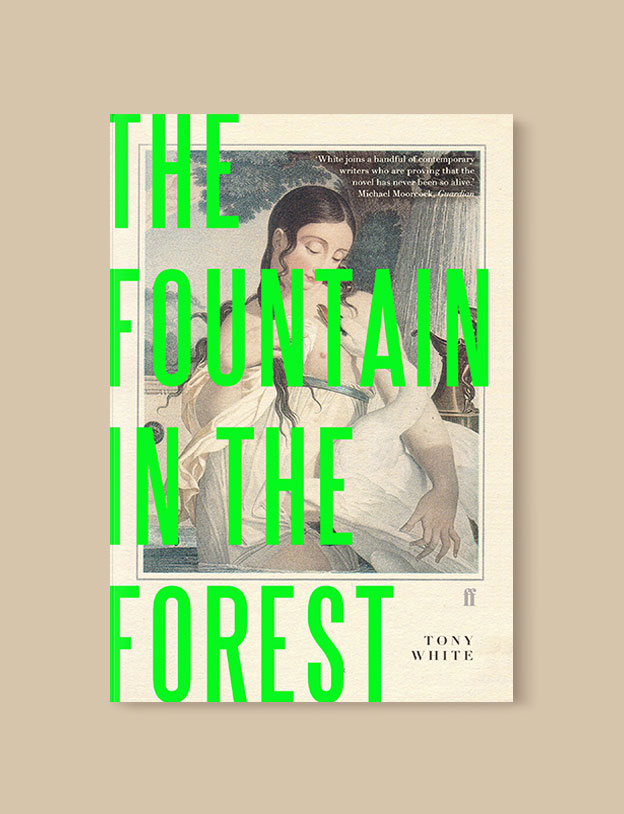 Best Book Covers 2018, The Fountain in the Forest by Tony White - book covers, book covers 2018, book design, best book covers, best book design, cover design, best covers, book cover design, book designers, design inspiration, cover design inspiration, book cover ideas, book design ideas, cover design ideas, book typography, book cover typography, book cover illustration, book cover design ideas