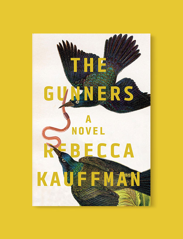 Best Book Covers 2018, The Gunners by Rebecca Kauffman - book covers, book covers 2018, book design, best book covers, best book design, cover design, best covers, book cover design, book designers, design inspiration, cover design inspiration, book cover ideas, book design ideas, cover design ideas, book typography, book cover typography, book cover illustration, book cover design ideas