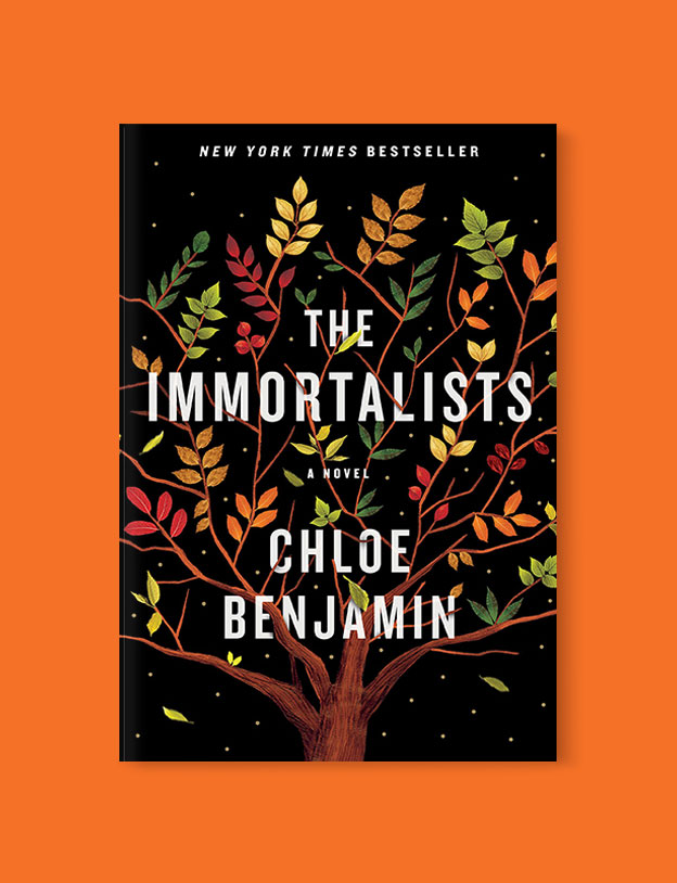 Best Book Covers 2018, The Immortalists by Chloe Benjamin - book covers, book covers 2018, book design, best book covers, best book design, cover design, best covers, book cover design, book designers, design inspiration, cover design inspiration, book cover ideas, book design ideas, cover design ideas, book typography, book cover typography, book cover illustration, book cover design ideas